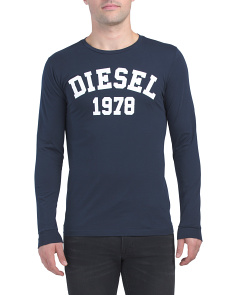 Diego Long Sleeve Ehm Printed Top