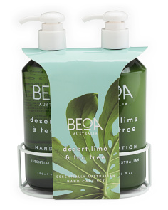 Australian Design Desert Lime & Tea Tree Caddy Set