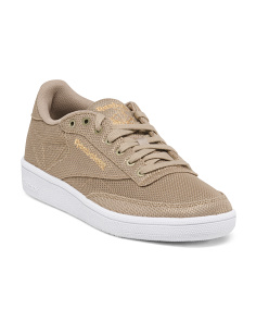 Classic Metallic Mesh Fashion Sneakers