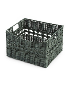 Medium Open Weave Storage Basket