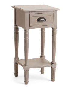Side Table With Drawer