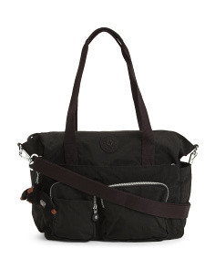 Sady Nylon Multi Pocket Large Tote