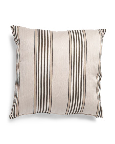 Made In Usa 24x24 Striped Pillow