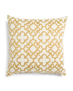 22x22 Oversized Medallion Pillow