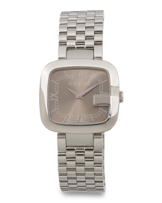 Women's Swiss Made G Dial Bracelet Watch