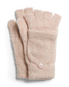 Knit Pop Top Gloves