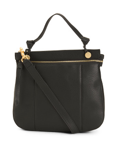 Rebel Satchel With Crossbody Strap