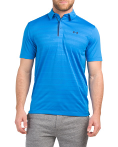 Cool Switch Jacquard Polo