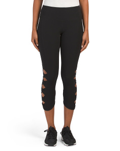 Side Lattice Leggings