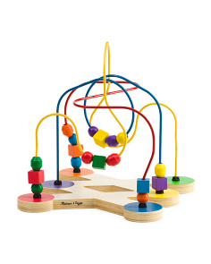 Classic Wooden Bead Maze