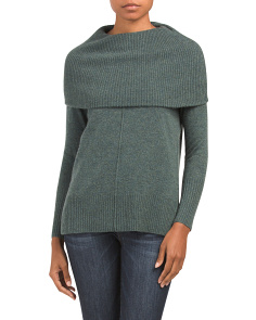 Cowl Neck Cashmere Sweater