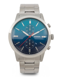 Men's Townsman Chrono Ombre Dial Bracelet Watch