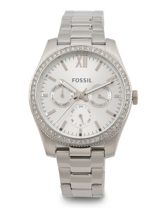 Women's Scarlette Crystal Accent Bracelet Watch