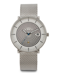 Men's Hald Mesh Strap Watch