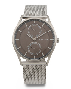 Men's Holst Multifunction Mesh Strap Watch