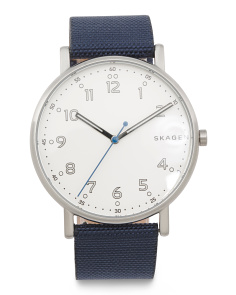Men's Signatur Nylon Strap Watch