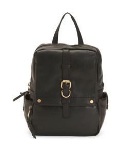 Leather Savor Bronco Backpack