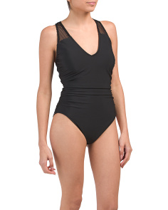 Made In Colombia Dont Mesh Me Trinity One Piece