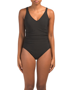 Solid 18 Steffi One-piece Swimsuit