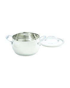 3qt Splendor Stainless Steel Belly Sauce Pot