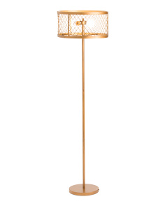 Evie Mesh Floor Lamp
