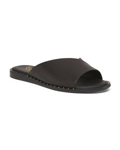 2e2465399 One Band Flat Leather Sandals ...