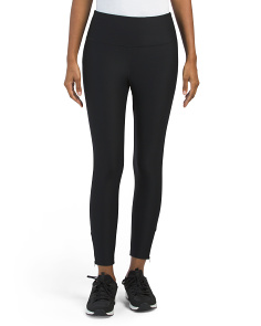 Tummy Control Ankle Zip Leggings