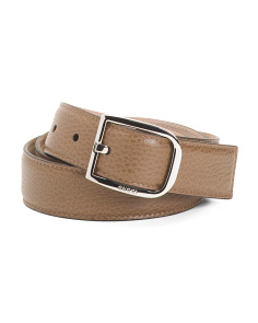 Made In Italy Luxury Leather Belt
