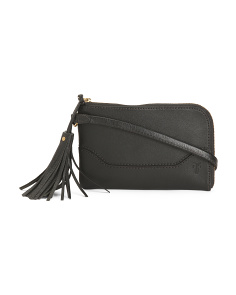 Leather Paige Wristlet