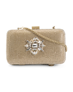 Prize Evening Clutch With Jeweled Front