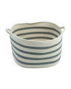Medium Square Cotton Rope Storage Basket
