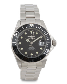 Men's Pro Diver Bracelet Watch