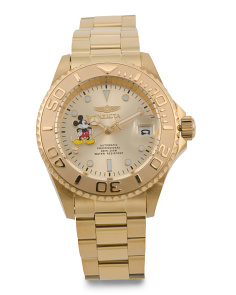 Men's Limited Edition Mickey Mouse Bracelet Watch