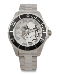 Men's Star Wars Stormtrooper Automatic Bracelet Watch