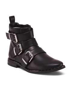 Three Buckle Booties