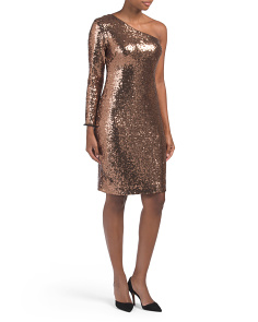 Midi Length Sequin Dress