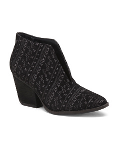 Architectural Geometric Booties