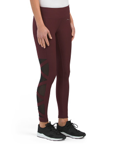 Side Mesh & Criss Cross Leggings