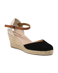 Made In Spain Wedge Espadrilles