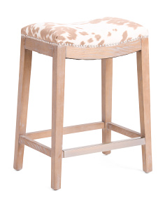 Udder Madness Hayden Counter Stool