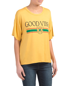 Juniors Good Vibes Tee
