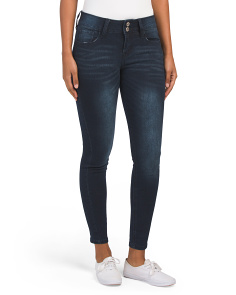 Petite Mulberry Mid Rise Curvy Jeans
