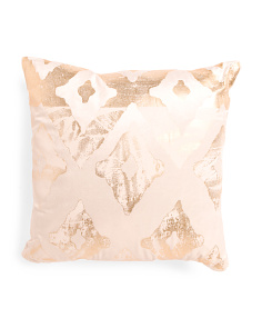 Made In India 20x20 Velvet Pillow