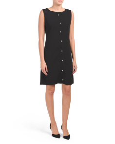 Made In Italy Sleeveless Cocktail Dress