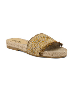 Made In Spain Flat Espadrilles