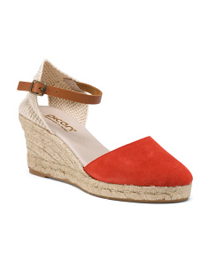 Made In Spain Suede Espadrilles