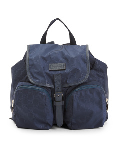 Made In Italy Small Backpack