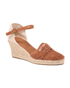 a5fe6da5853 Made In Spain Wedged Espadrilles ...