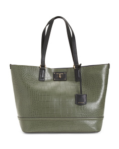 Leather Jozie Tote