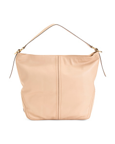 Julianne Leather Bucket Bag
